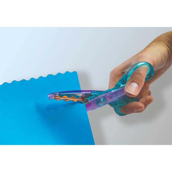 Ciseaux cranteur Colors Cut - 3 pcs