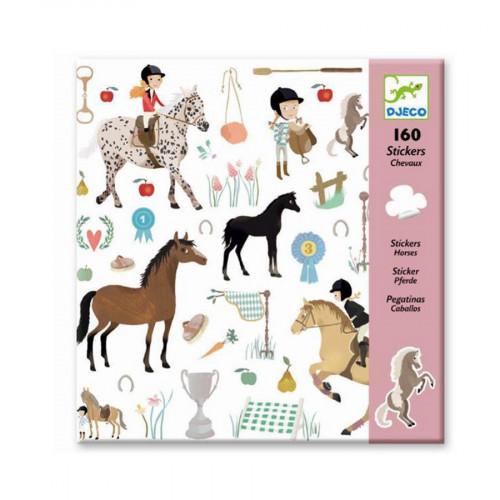 Stickers - Les chevaux - 160 pcs