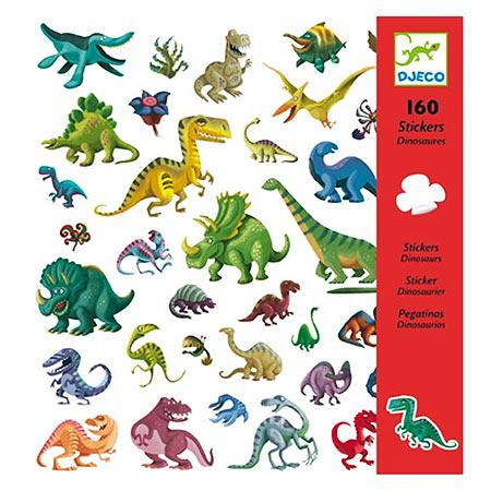 Stickers - Dinosaures - 160 pces