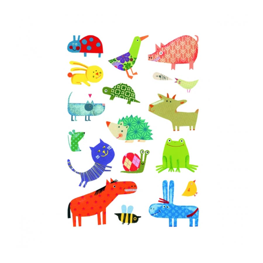 Gommettes Baby - Animaux Familiers - 93 pcs