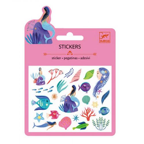 Mini Stickers - Sous la mer