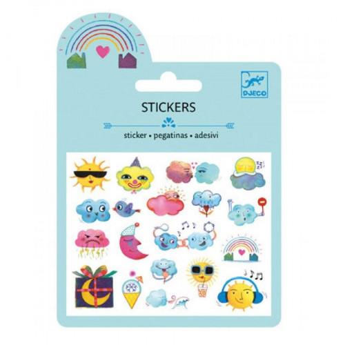 Mini Stickers - Météo - Finition Puffy