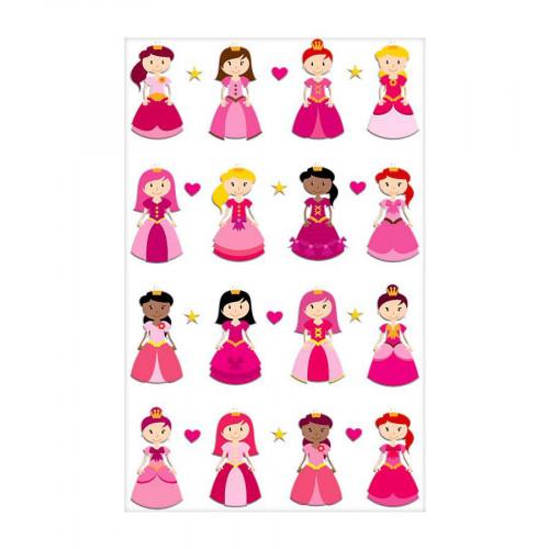 Stickers 3D - Cooky - Princesses II x 16