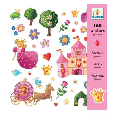Stickers - Princesse Marguerite - 160 pces