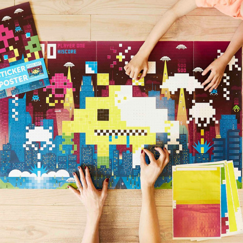 Sticker Poster Kids Video Games - 60 cm x 1 m