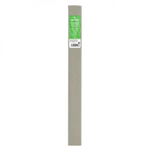 Papier crépon 32 g/m² - Gris acier - 0,5 x 2,5 m
