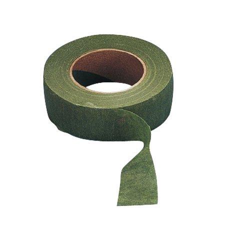 Ruban crépon - Olive - 2,6 cm x 27,5 m