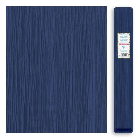 Papier crépon 32 g - Bleu Marine - 2,5 x 0,5 m
