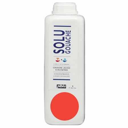Solugouache - Vermillon clair 1 L - couleur 39