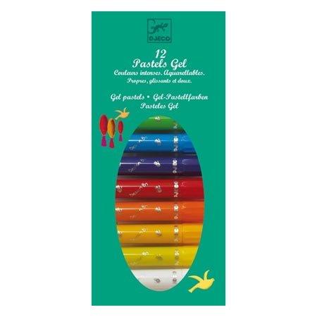Pastels Gel - classique - 12 pces