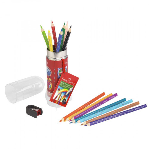 Colour Grip Set Fusée - Crayons de couleur aquarellables