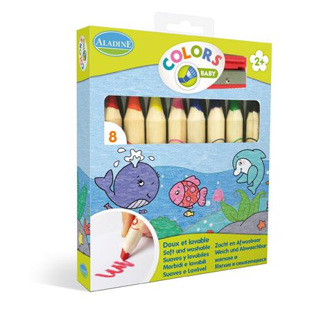 Crayons jumbo - x 8