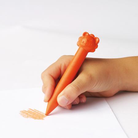 Crayons de cire animaux - x 12