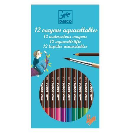 Crayons de couleur - 12 pces