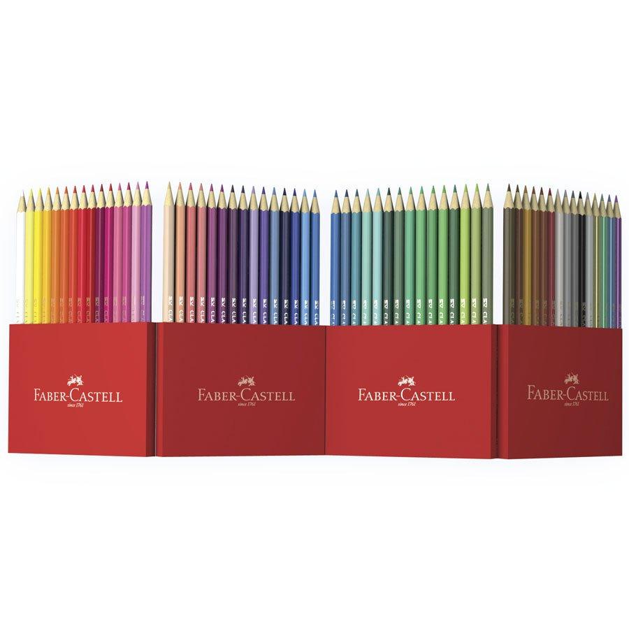 Crayons de couleur - Etui accordéon - 60 pcs