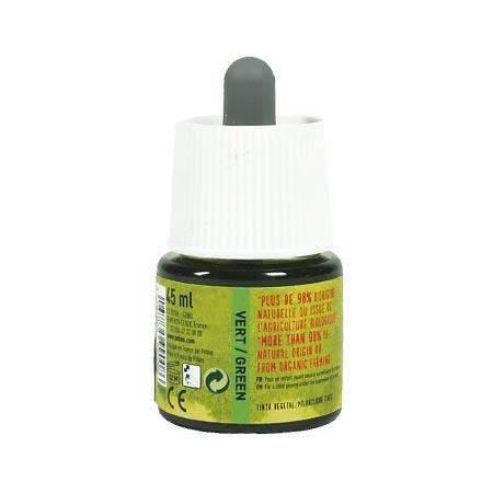 Encre végétale verte - 45 ml