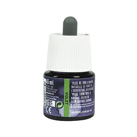 Encre végétale violet - 45 ml