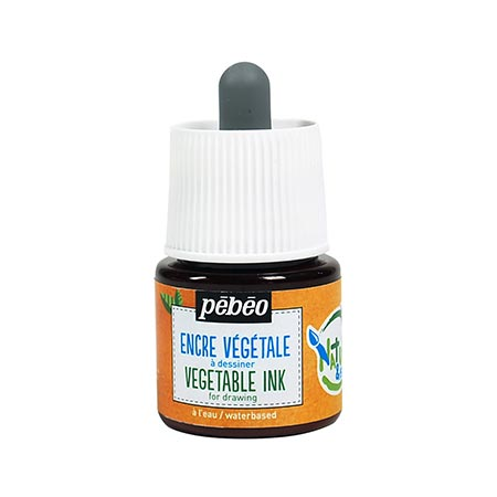 Encre végétale orange - 45 ml