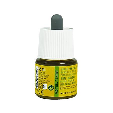Encre végétale jaune - 45 ml