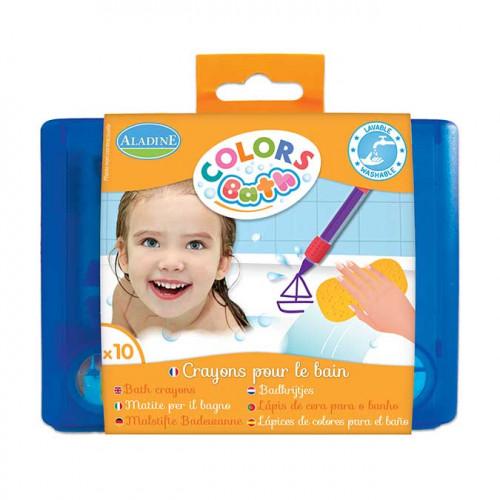 Crayons pour le bain Colors Bath - 10 pcs