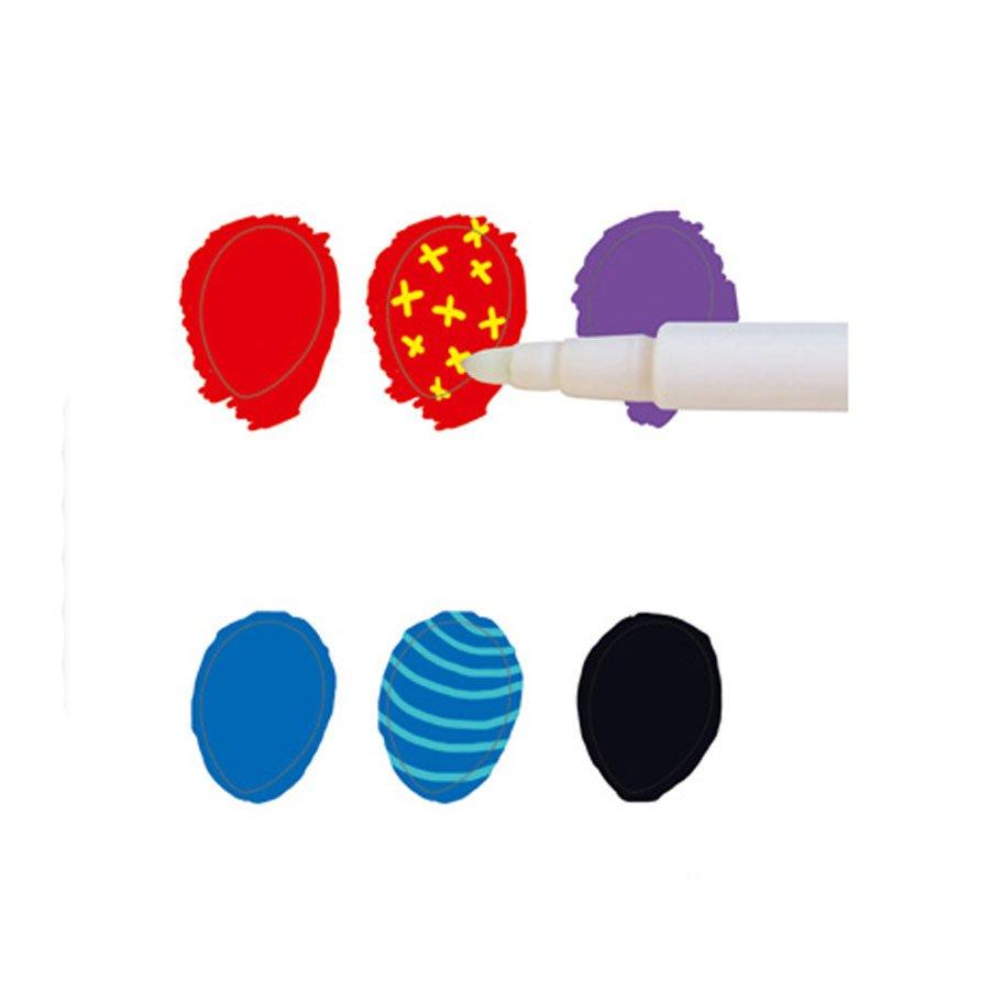 Feutres magiques - 9 couleurs + 1 magique