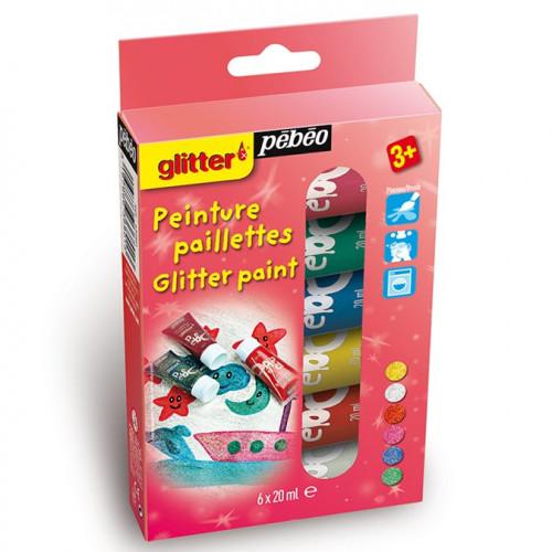 Kit découverte Glitter - 6 x 20 ml
