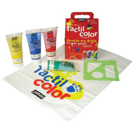 Tactilcolor - Set découverte 4 x 80 ml