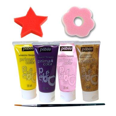 Primacolor liquide - Kit féérie - 4 pots 20 ml