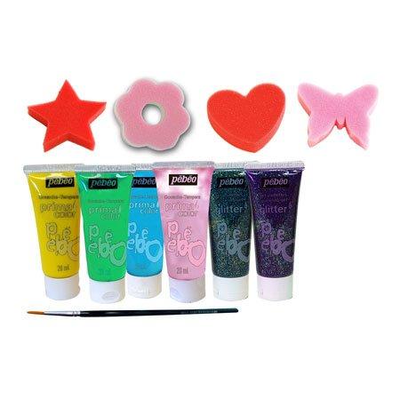 Primacolor liquide - Kit princesse - 6 tubes 20 ml