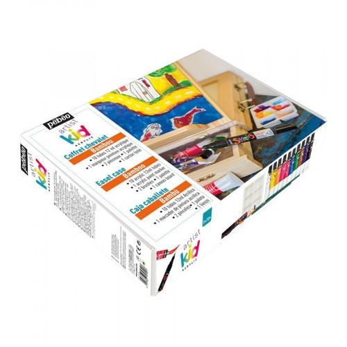 Coffret Artist Kid Chevalet, acryliques, outils
