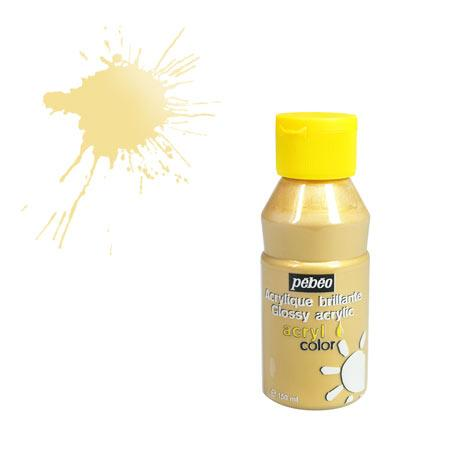 Acrylcolor - 150 ml - Or