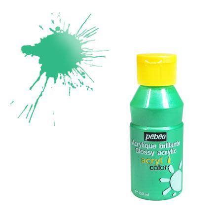 Acrylcolor - 150 ml - Vert nacré