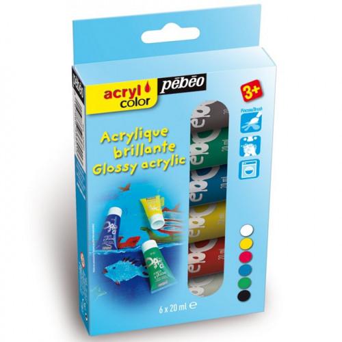 Kit découverte Acrylcolor - 6 x 20 ml