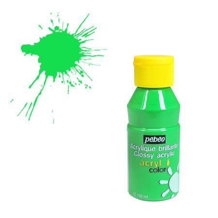 Acrylcolor - 150 ml - Vert lumière