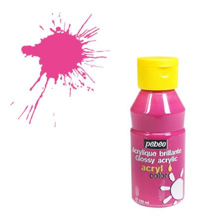 Acrylcolor - 150 ml - Rose vif