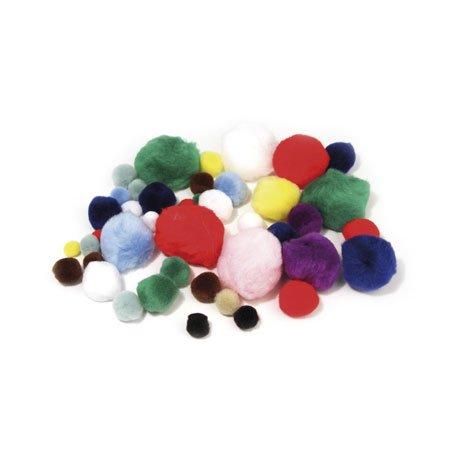 Pompons - Lot de 100 pièces