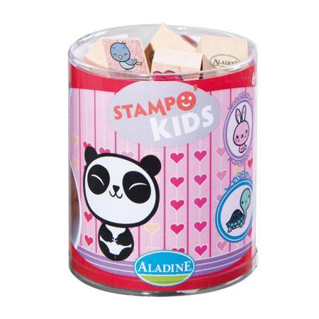 Stampo kids - Assortiment tampons bois - Kawai