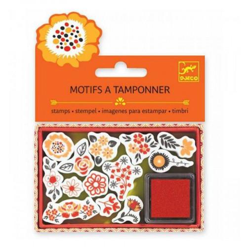 Mini Tampons - Fleurs