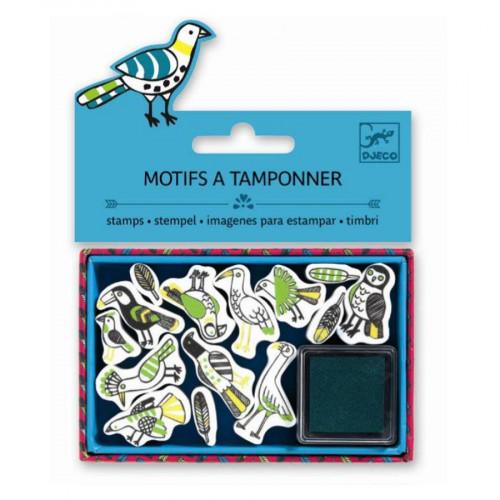 Mini Tampons - Plumes