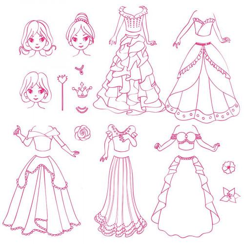 Stampo Fashion Box - Princesses