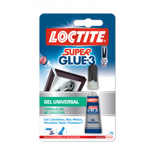 Colle Super Glue-3 gel 3g