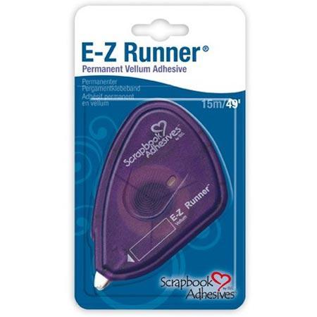 E-Z Runner - adhésif permanent et fin