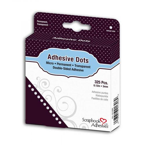 Adhesive Dots - 325 Pastilles de colle - 3 mm