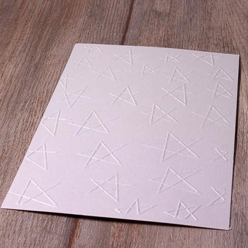 Classeur de gaufrage Etoiles - 10,5 x 14,8 cm