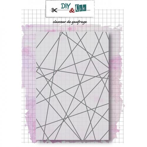 Classeur de gaufrage String Art - 10,5 x 14,8 cm