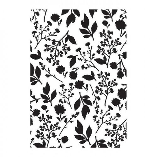 Classeur de gaufrage Fleurs - 10 x 15 cm