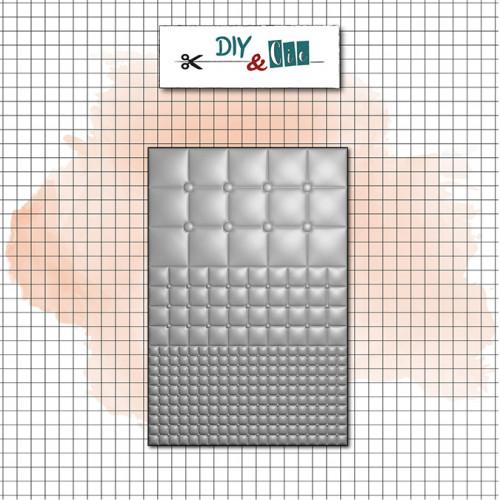 Classeur de gaufrage 3D Capitons