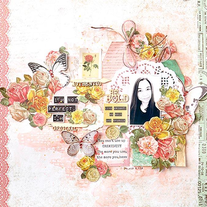 Classeur de gaufrage Fleur de Lis - 10 x 15 cm