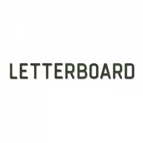 Bigz XL Alphabet Die Letterboard
