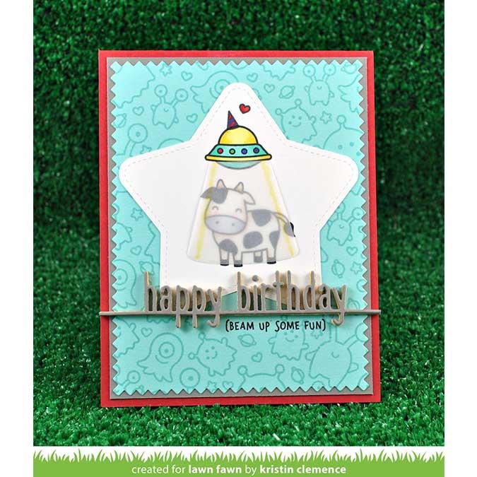 Die Bordure Happy Birthday